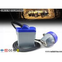 Rechargeable Miners Headlamp 3 Watt Main Light 6600mAH Li - Ion Battery Manufactures