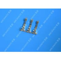 2.00 mm Pitch Phosphor Brone Battery Wire Connectors Terminals Fire Rated Tin Plated Finish Manufactures
