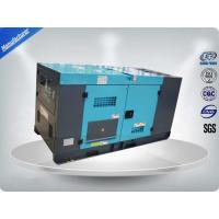 ISUZU 4JB1T Silent Diesel Generator Set 60HZ 28KW / 35KVA Mechanical Speed Governing Manufactures