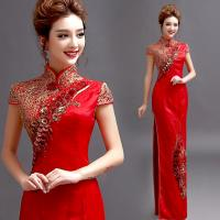 Chinese Style Mermaid Wedding Dress Manufactures