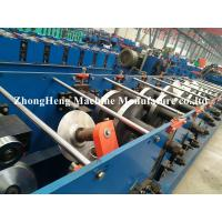Quality Steel Profile C Z Purlin Roll Forming Machine Hydraulic motor 80mm - 300mm width for sale