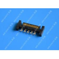 PCB Slimline SATA Connector Voltage 125V AC Small Footprint Design Manufactures