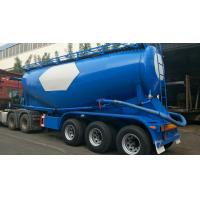 35 Stere Three-Axis BPW Vehicle Bridge Powder Tank Transport Semi-Trailer Manufactures