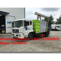 2018s best beller-factory sale dongfeng tianjin 10CBM road sweeping vehicle for sale, street sweeper cleaning truck Manufactures