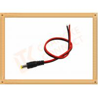 Custom Cable Assembly Red And Black With Male Connector , Camera Power Cable Manufactures