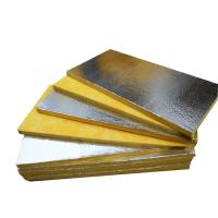 Foil-Faced Glass Wool Roll Soundproof Insulation For Metal Building Insulation Manufactures
