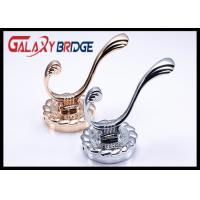 Chrome Plated Solid Wall Hangers Rose Gold Luxury Clothes Hooks Classical Towel Rack Manufactures