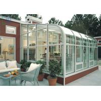 Residential Housing Aluminium Glass Greenhouse Double Glazing Architeched Design Manufactures