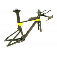 Quality Di2 Compatible T700 Carbon Triathlon Bike Frame BB86 TRP-TR02 Brake Type for sale