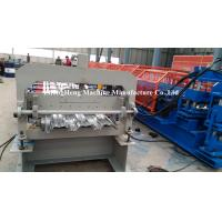 Galvanized steel Metal Floor Decking Forming Machine 220V 60HZ 3 phases Manufactures