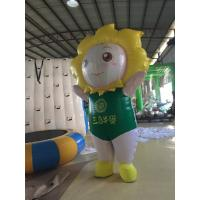 Walking 2 M Inflatable Cartoon Characters Mobile Inflatable Model 420D Oxford Manufactures
