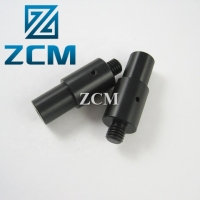 China Matte Black 36mm Diameter L54mm Plastic CNC Services on sale