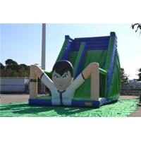 PVC Tarpaulin Giant Inflatable Playground For Children Playing Manufactures