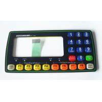 Quality Waterproofing FPC Tactile Membrane Switch Sticker With Embossed Button for sale