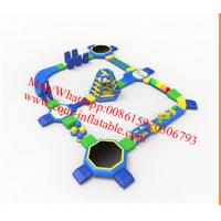 inflatable water floating playground inflatable water playground floating water park aqua Manufactures