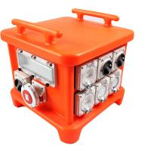 EN60439 4 Portable Power Distribution Unit, UV8 Resistance Spider Electrical Box Manufactures