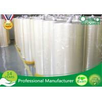 High Bonding Strength BOPP Jumbo Rolls Waterproof For Charting And Drawing Manufactures