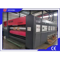 Buy cheap Corrugated Carton Box Flexo Printer Slotter Die Cutter Stable Running from wholesalers