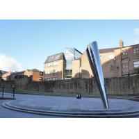 Giant Outdoor Metal Sculpture Contemporary Stainless Steel Sculpture Public Decoration Manufactures