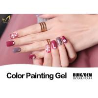 Odorless UV Gel Nail Paint No Chemical Nail Polish Customized Color No Heat Manufactures