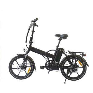 China 250W 36V Mini Folding Electric Bike Brushless Aluminum Alloy Frame / Fork on sale
