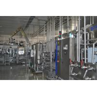 PLC Control  Industrial Fruit Juice Production Line For Sea Buckthorn Juice And Pulp Manufactures