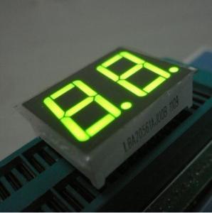 China Numeric LED Display , 2 Digit 7 Segment LED Display For Car Dashboard on sale