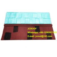 Industrial corrugated roofing sheets Heat insulation blue shingle / classic / bond Manufactures