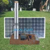 3 inch DC Solar Bore Pump , Solar Water Pump For Garden JC3-3.6-33 Manufactures