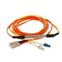 China Mode Conditioning Fiber Optic Patch cord , Optical Jumper Gigabit Launch Patch cord on sale