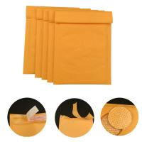 #000 4x8 Secure self-seal Golden Yellow Kraft Bubble Padded Mailers for shipping mailing supplies Manufactures