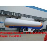 2018s new design biggest 62m3 bulk lpg gas tank semitrailer for sale, best price road transported lpg gas tank for sale Manufactures