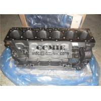 Cast Iron  / Forged Steel Air Cooled Diesel Engine Cylinder Block Assembly  for Komatsu Excavator Manufactures