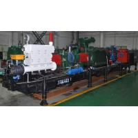 China Automatic Remote Control Coal Mine Fracturing Pump Flow Rate 1458m³/h Pressure 80Mpa on sale