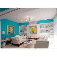 Eco Friendly Interior Wall Pro Silk Emulsion Paint For Landmark Building / Villas Manufactures