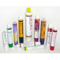 China 1C - 6C Printing Collapsible Aluminum Tubes With 3g - 400g Capacity , Fully Label on sale