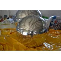 Silver Commercial Giant Inflatable Mirror Ball Entertainment Events Use Manufactures