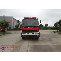 Quality ISUZU Branding CAFS Fire Truck Large Capacity 3600 L/Min Rated Flow Rate for sale