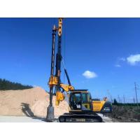 Borehole Pile Rig Equipment Total Weight 24 Ton , Max Drilling Diameter 1m Manufactures