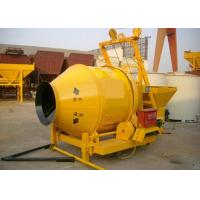 Industrial Portable Concrete Mixer With Pump 14r / Min Drum Rotating Speed Manufactures