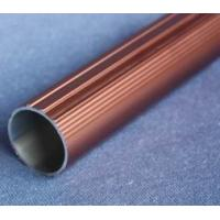 Round T6061 Anodized Aluminum Tube , Powder Spray Coated Brushed Aluminum Tubing Manufactures