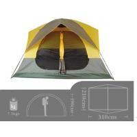 Quality Glass Fibre + Oxford Cloth Inflatable Party Tent For Wild Camping 2.15 * 2.15 * for sale