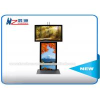 Dual Screen Digital Signage Advertising Kiosk With Android Software Custom Logo Manufactures
