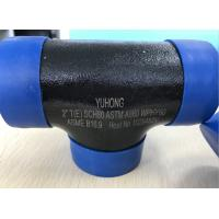 "ASTM A860 WPHY60 / WPHY42 / WPHY52 /WPHY65/WPHY70 WPHY80 EQUAL TEE 2"" SCH80 BW ASME B16.9 Black Surface OR Color Coating Manufactures"