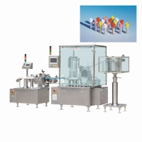 China Compact Precise 10ml Screw Tube Rotary Aseptic Filling Machine on sale