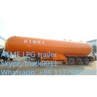 CLW brand 25ton bulk lpg gas propane trailer for sale,best 3 axles BPW/FUWA gas cooking propane tank trailer for sale Manufactures