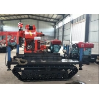 ST-200 Prospecting Geological Drilling Rig Machine , Borewell Drilling Machin Manufactures
