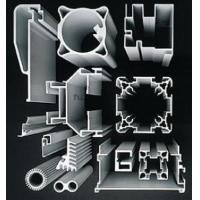 Mill Finished Industrial Aluminum Extrusion Profile T4 / T5 / T6 / T66 For Buildings Manufactures