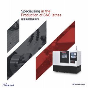 Turret Type Tailstock Lathe Series Cnc Lathe Machine Auto High Performance Manufactures