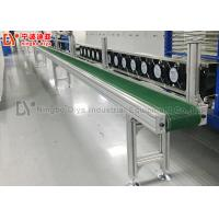 Anti Static Assembly Line Conveyor , HI Q Conveyor Belt System For Electronic Production Manufactures